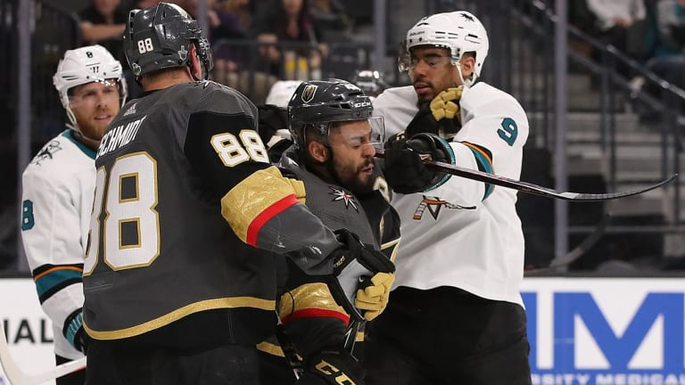 Sharks' Evander Kane Suspended For Game 2 After Cross-Checking Pierre-Edouard Bellemare