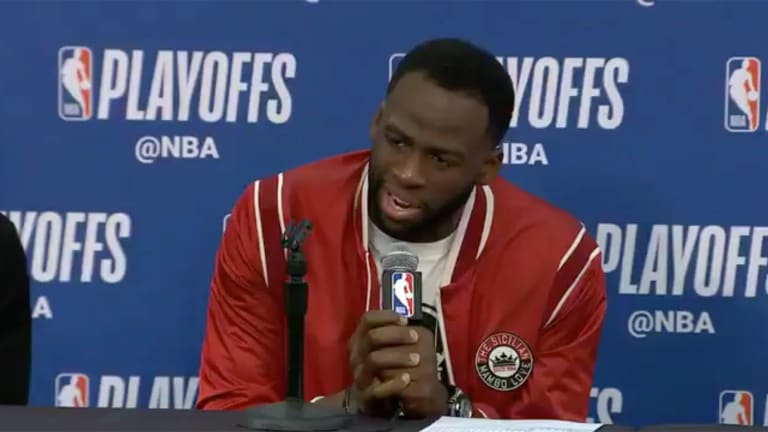 Watch: Draymond Green Explains His Role In Perceived Conflict With Rajon Rondo
