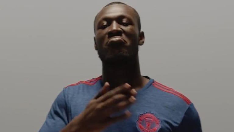 Manchester United Fans Have Hailed Grime Star Stormzy's Reaction to Meeting City's Benjamin Mendy