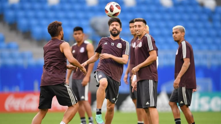 Héctor Herrera se prepara para Brasil pensando en el partido contra Holanda en el Mundial 2014