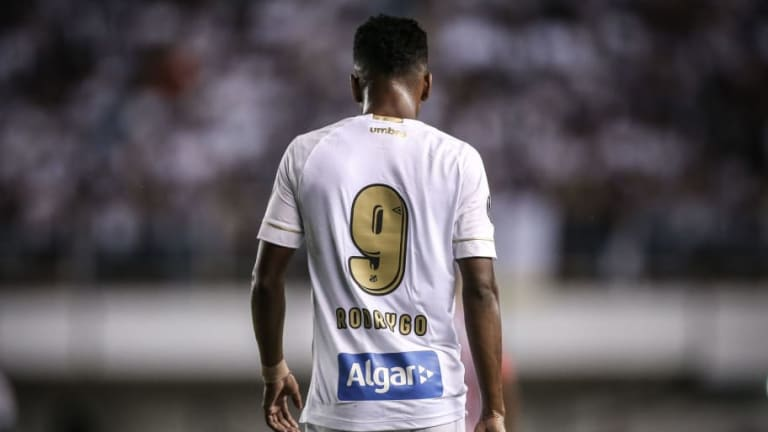 Young Santos Striker Rodrygo Reveals He Is 'Proud' to Be Linked With a Move to Barcelona
