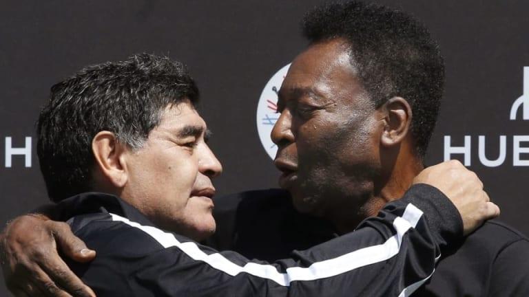 El sorprendente e inesperado mensaje de Pelé a Maradona por su cumpleaños