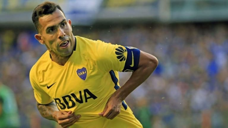 Carlos Tevez Slams 'False Rumours' Over Calf Injury Sustained in Apparent Prison Football Game