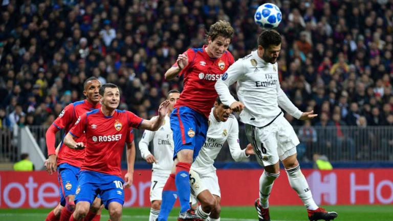 El 1x1 del Real Madrid en la derrota ante el CSKA de Moscú (1-0)