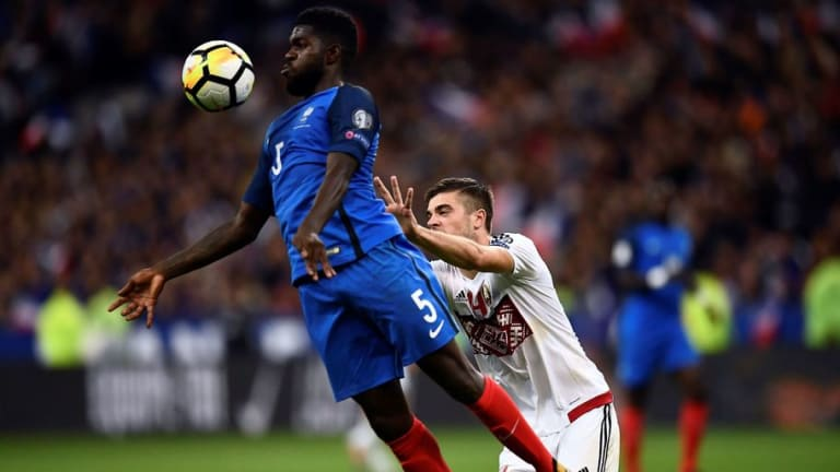 Manchester City's Pursuit of Barcelona's Samuel Umtiti Gathers Pace as Transfer Window Opens