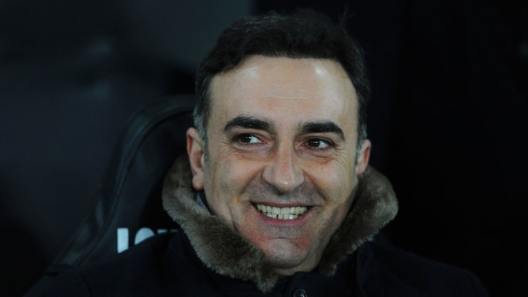 Carvalhal Reveals 'Carlos Had a Dream' Stitched on Jacket as Swansea Reach FA Cup Quarters