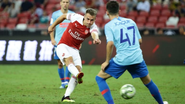Sky Sports Reporter Suggests Aaron Ramsey Is Considering Arsenal Exit Amid Contract Standoff