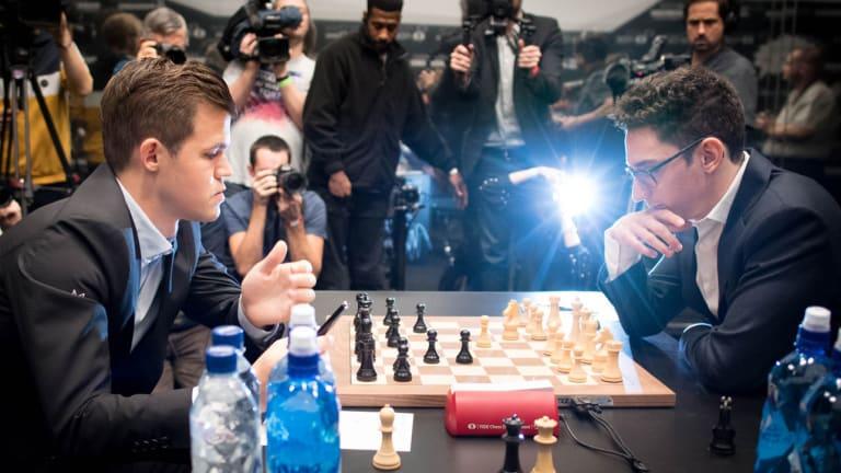 Magnus Carlsen Beats Fabiano Caruana for Chess World Championship