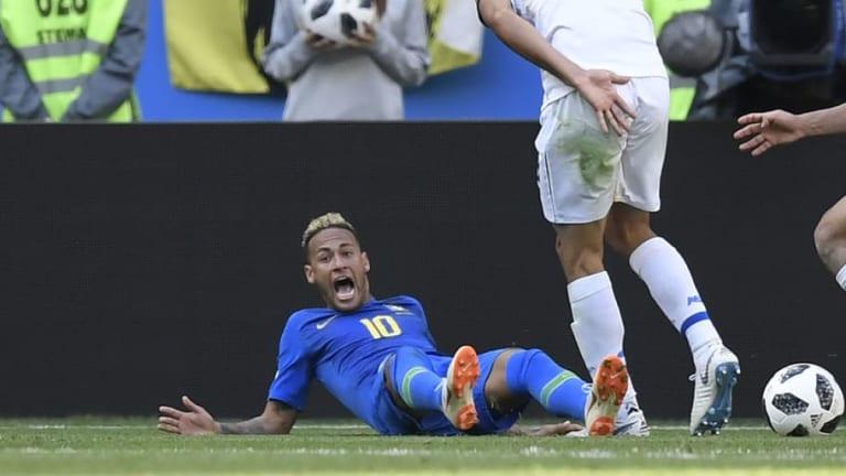 El pub brasileño que trollea a Neymar por tirarse