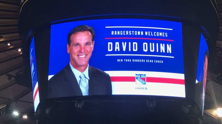 Rangers Believe New Coach Dave Quinn Will Bring Fresh Approach to Rebuilding Team