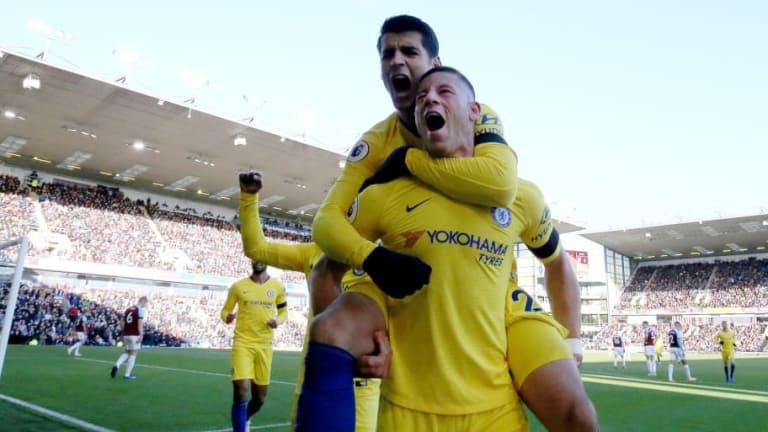 Burnley 0-4 Chelsea: Barnstorming Blues Crush Clarets as Sarri's Men Keep Pace in Title Race