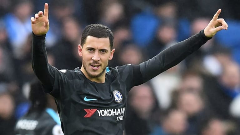 Report Claims Real Madrid Have Agreed Enormous Fee With Chelsea for Eden Hazard