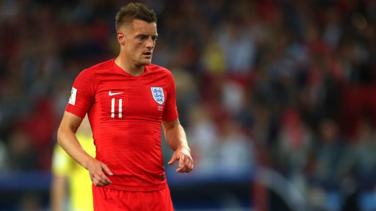The Reason Why Jamie Vardy Did Not Take a Penalty Against Colombia Revealed