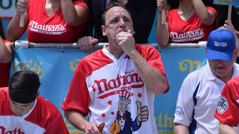 How Joey Chestnut Dominates July 4, Tony Hawk's Other Major Talent and More
