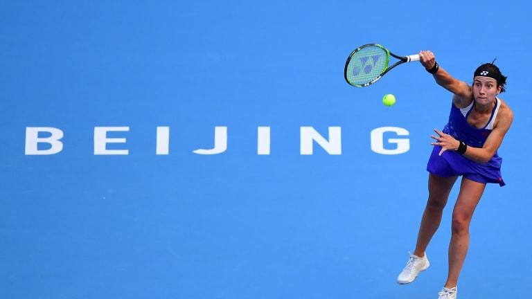 Sevastova Tops U.S. Open Champ Osaka to Reach China Open Final