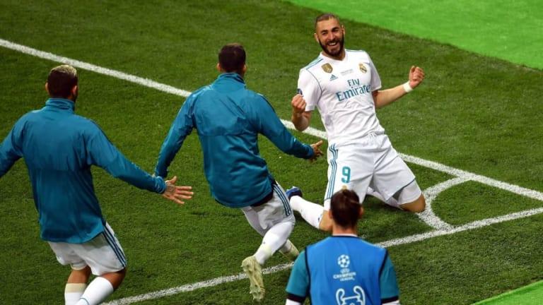La UEFA elige el mejor gol de la Champions 2017/2018