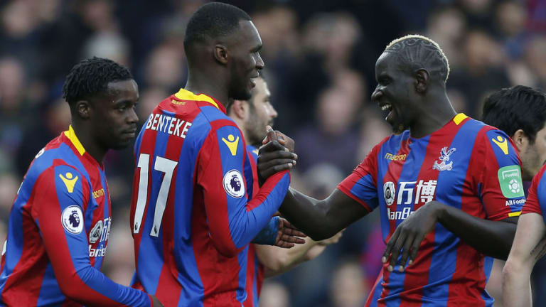 Christian Benteke Reveals He Wants to Stay With Crystal Palace Following 5-0 Win Over Leicester