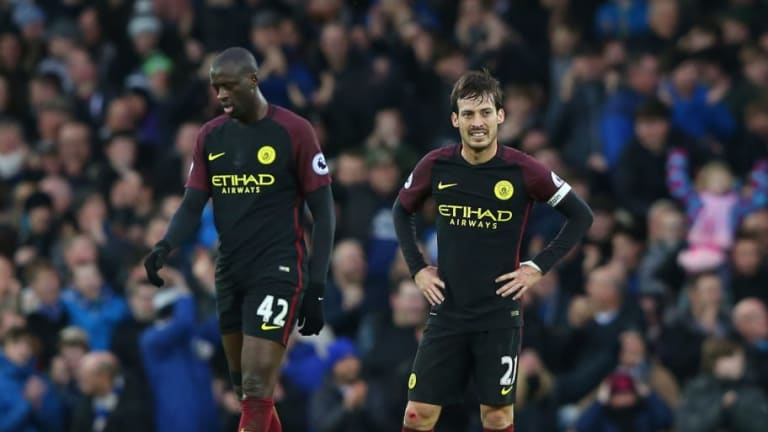David Silva Pays Tribute to Yaya Toure After Missing Manchester City Parade to Be With His Son