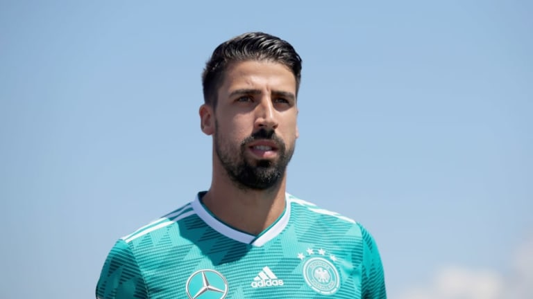 'We Played Like Schoolboys': Sami Khedira Demands Better From Germany Ahead of Crucial Sweden Tie