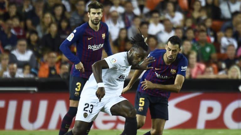 El 1x1 del FC Barcelona en el empate contra el Valencia (1-1)