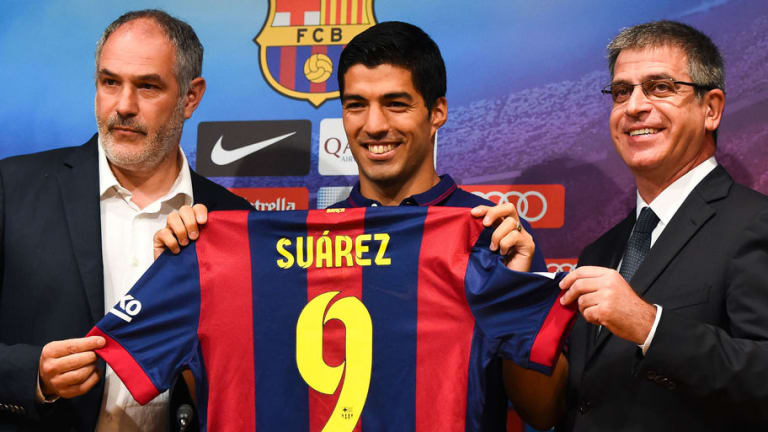 Luis Suarez Reveals How He Reacted When Barcelona Still Wanted Him After 2014 World Cup Bite
