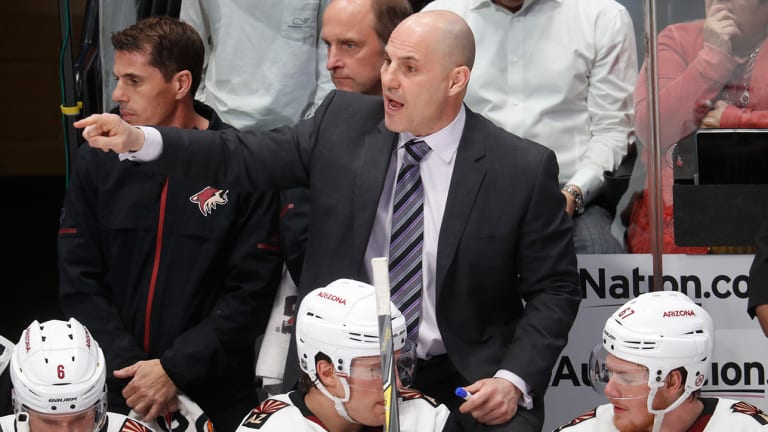 Coyotes Coach Rick Tocchet on Leave, Dealing With Family Illness