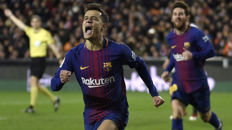 'We Understand Each Other': Coutinho Claims Relationship With Messi is Improving After Maiden Goal