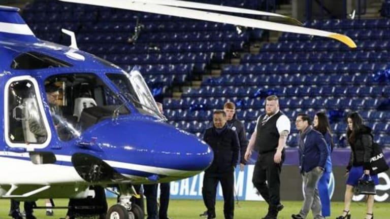 IMPACTANTE | Se estrelló el helicóptero en el que iba el dueño del Leicester City