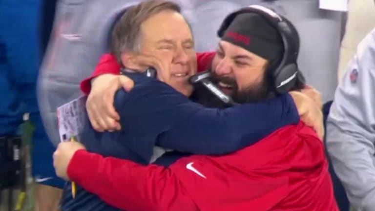 Watch: Bill Belichick Smiles, Celebrates AFC Championship Win On Sidelines