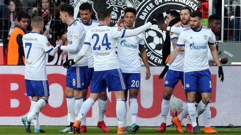 Leverkusen 0-2 Schalke: Breathtaking Burgstaller Finish Sees Die Königsblauen Claim Crucial Victory