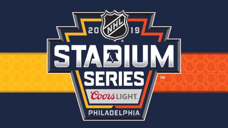 NHL, Flyers Unveil Logo For 2019 Stadium Series Game With Penguins