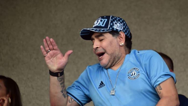 IMPACTANTE | La mansión en la que vivirá Maradona en Bielorrusia