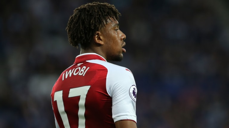 Home Grown Alex Iwobi Commits Future to Arsenal With New 'Long-Term' Contract