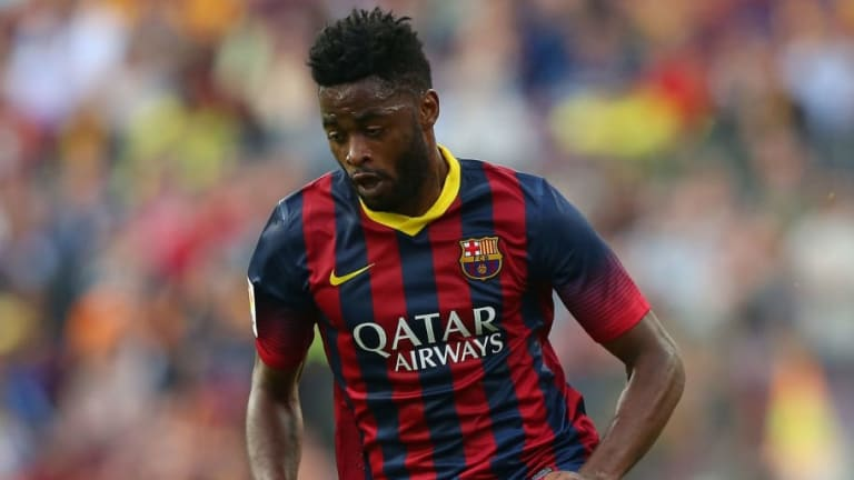 Alex Song confiesa el infierno que vivió tras dejar el FC Barcelona