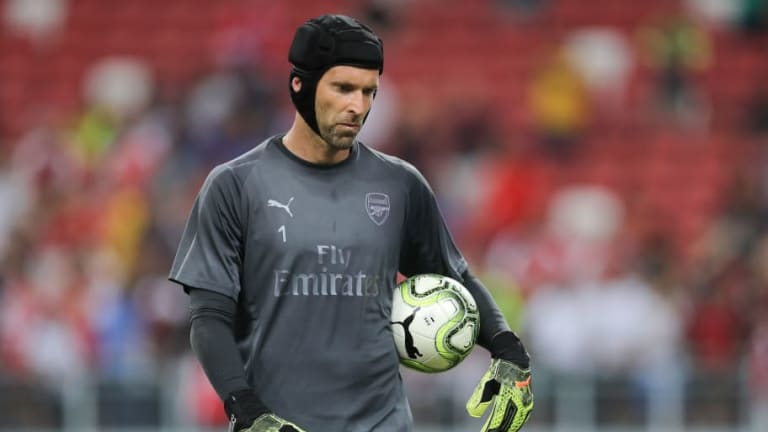 Petr Cech Sends Statement of Intent to New Gunners Signing Bernd Leno