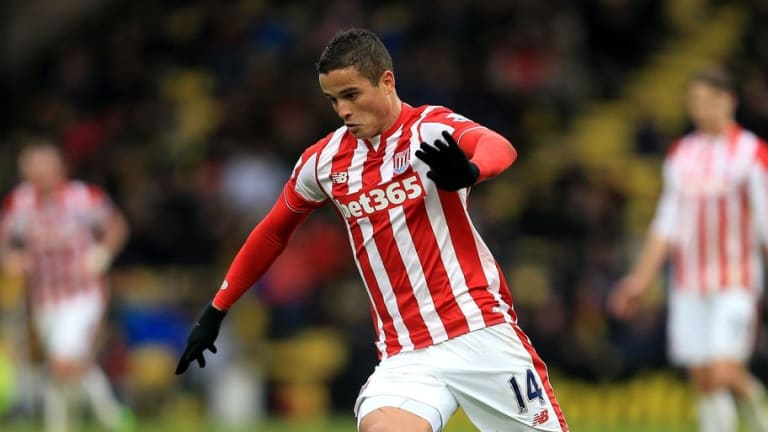 Stoke Attacker Set for Exit Door After Being 'Told to Stay Away' From Club by Paul Lambert
