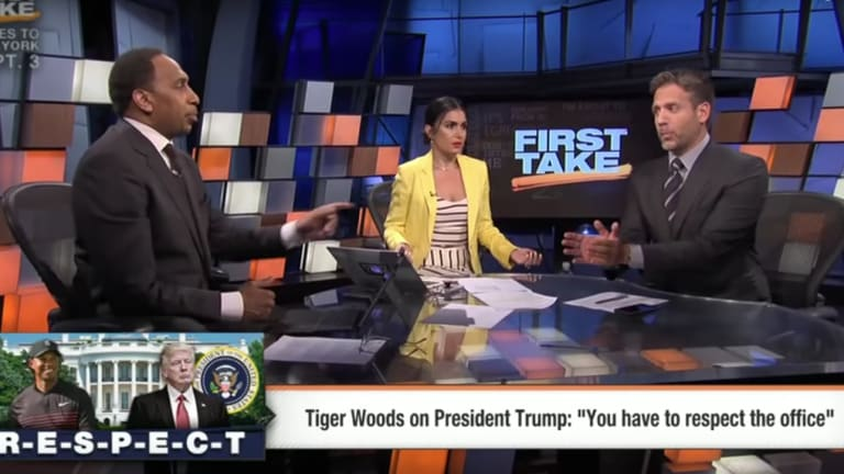 Max Kellerman Bashes Tiger Woods Over Weak Answer on Relationship With Donald Trump: Traina Thoughts