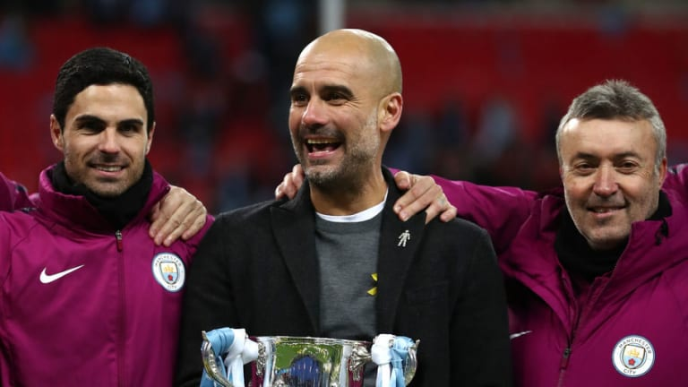 Carabao Cup Final Scorer Vincent Kompany Likens Pep Guardiola Reign to Being at University
