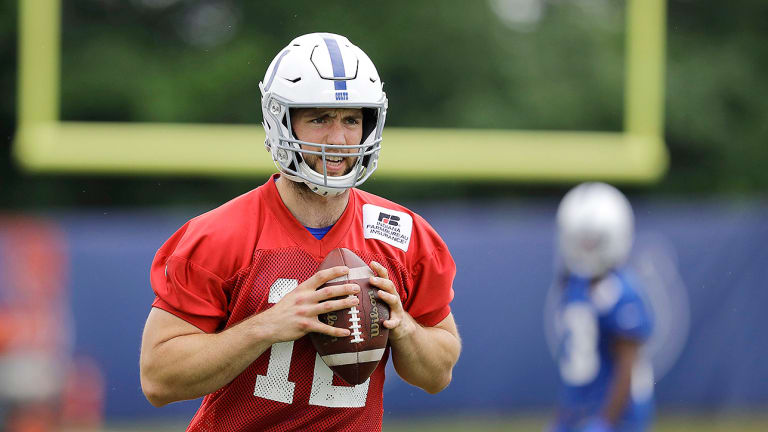 For Andrew Luck, It All Re-Starts Here