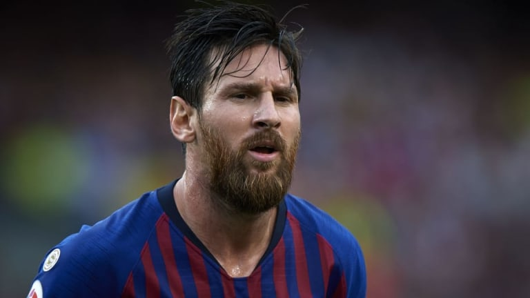 MESSI SE MOJA   Leo revela cuál es para él el mejor fichaje del Barça esta temporada