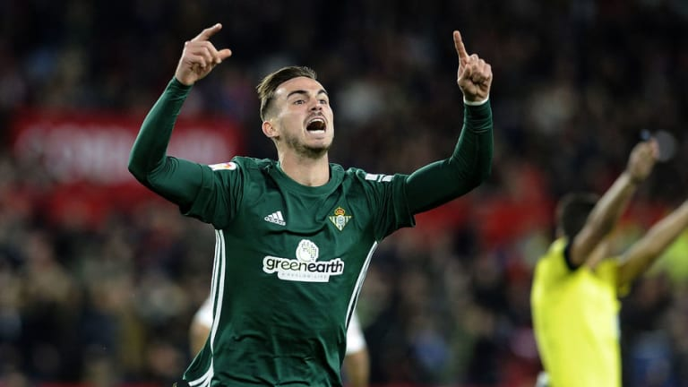 Real Madrid Join Barcelona in Pursuit of Talented Real Betis Midfielder Fabian Ruiz