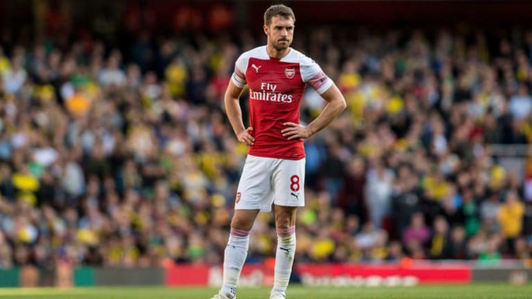 'It Is Worrying': Arsenal Legends Plea With Club to Resolve Aaron Ramsey Contract Saga