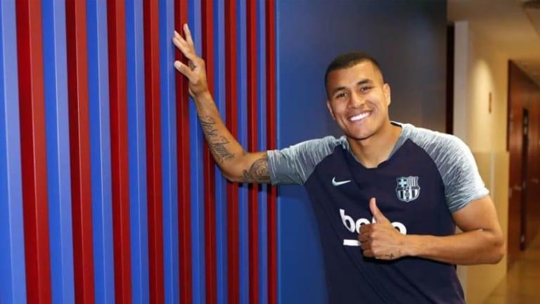 Jeison Murillo ya tiene fecha para el debut oficial con el Barcelona