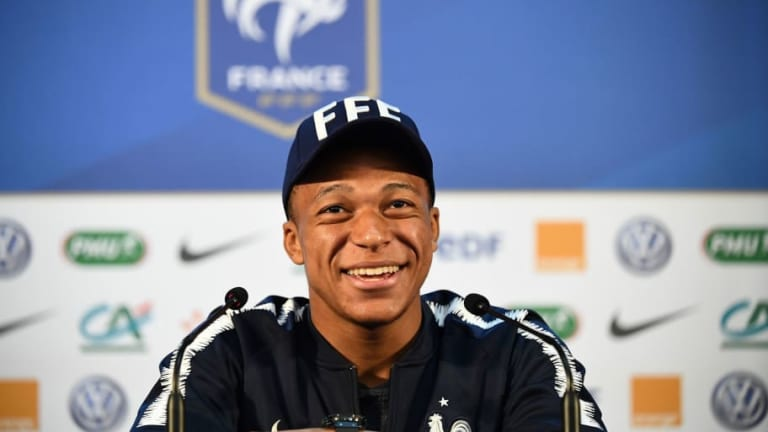 France Star Kylian Mbappe Admits He 'Dreams' of Being Managed by Arsene Wenger