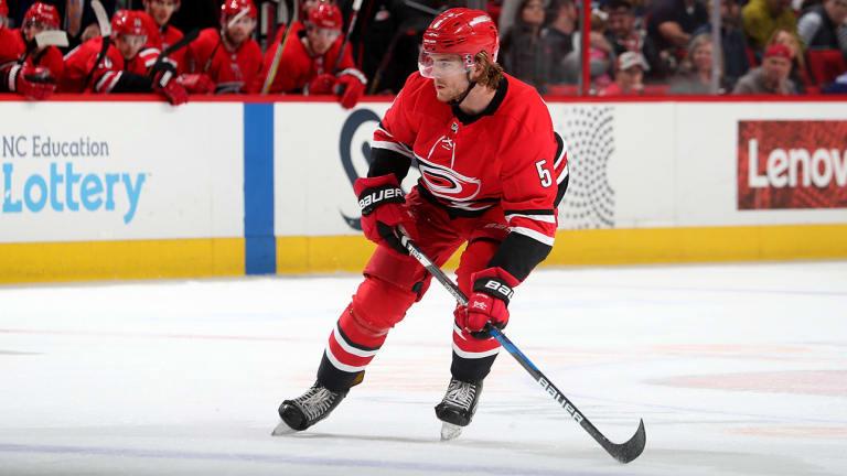 Flames Sign Defenseman Noah Hanifin to Six-Year Deal