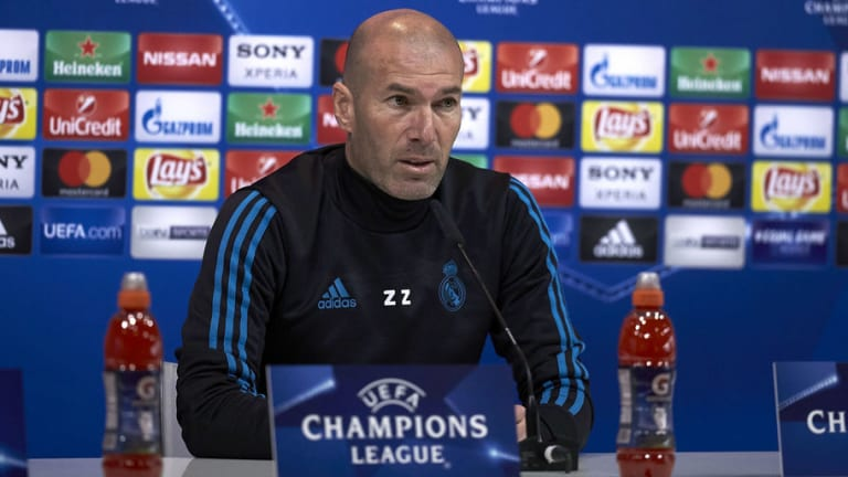 "Zidane: ""Tenemos que salir a ganar, sin especular ni nada"""