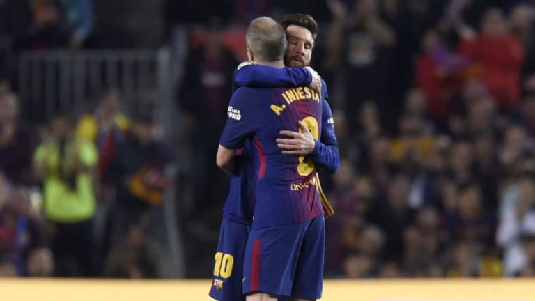 REVEALED: What Andres Iniesta Told Lionel Messi After Handing Over Armband in Final Clasico