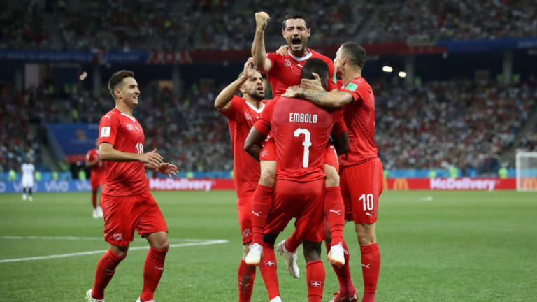 Switzerland 2-2 Costa Rica: Swiss Set Up Sweden Meeting as Los Ticos Go Home With a Point