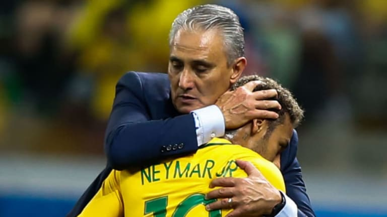 Brazil Manager Tite Defends Neymar After Frustrating Afternoon Against Costa Rica