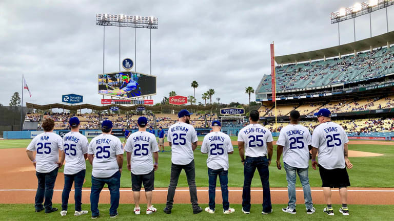 Watch: Cast of The Sandlot Reunites at Dodger Stadium for 25th Anniversary